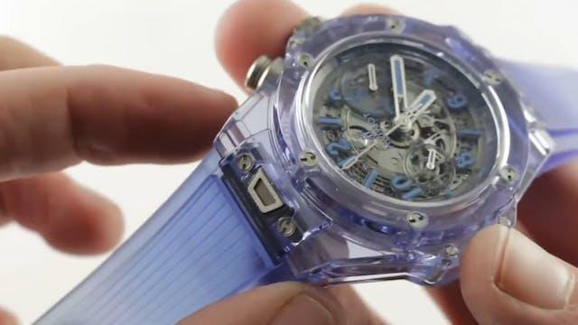 Hublot Big Bang Unico Blue Sapphire L...