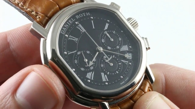Daniel Roth Masters Chronograph 247.X.10.161 Review