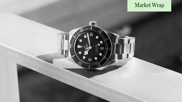Only Watch 2021 | FP Journe and Patek Philippe | CQ Gottlieb Guest | Market Wrap