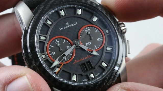 Blancpain L Evolution Chronographe Flyback Grand Date Edition R85F 1203 52B