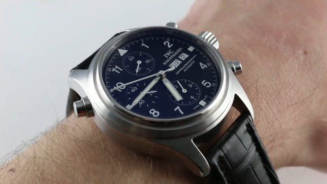 IWC Spitfire Doppelchronograph IW3713...