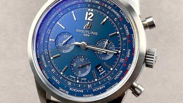 Breitling Transocean Chronograph Unit...