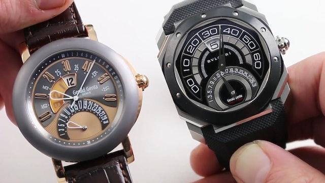 Gerald Genta vs Bulgari Watch Review Comparison Full Length