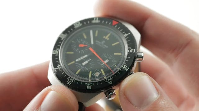 Vintage Breitling Long Playing Chrono...