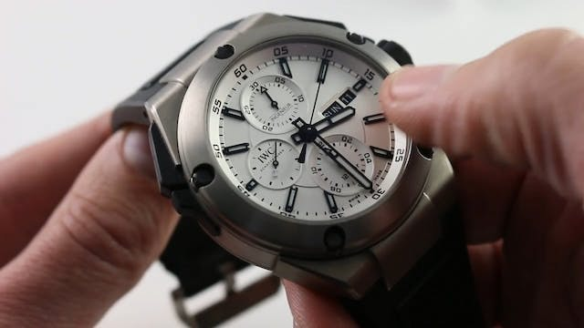 IWC Ingenieur Double Chronograph IW38...