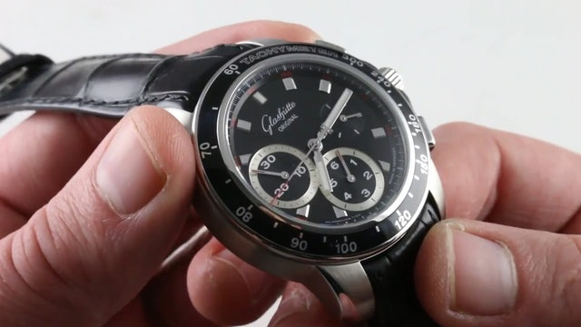Glashutte Original Sport Evolution Chronograph 39-31-43-03-03 Review
