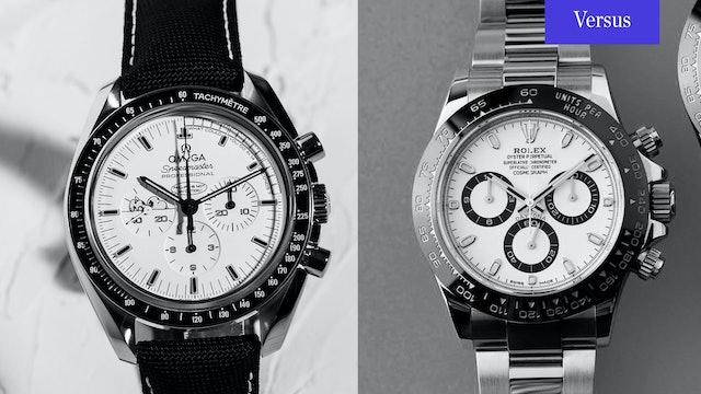 Rolex Daytona vs. Omega Speedmaster: Moonwatch & The Cosmograph