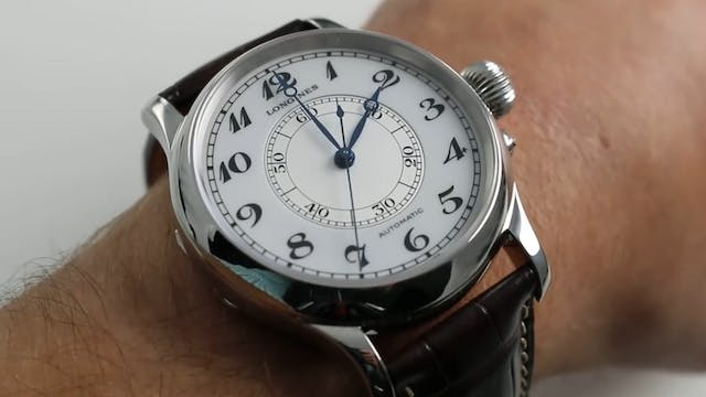 Longines Weems Second Setting Ref. L2...