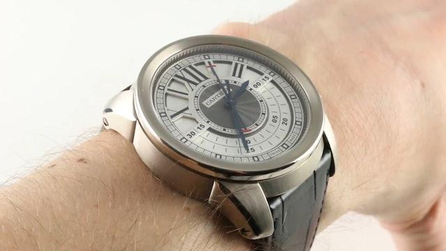 Cartier Calibre De Cartier Central Chronograph W7100005 Review
