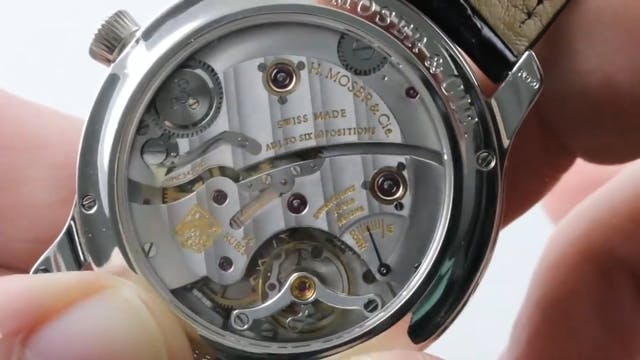H. Moser & Cie Endeavour Centre Secon...