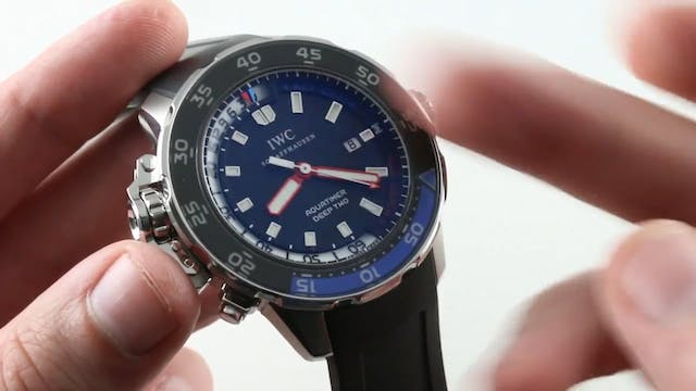 IWC Aquatimer Deep Two Depth Gauge IW...