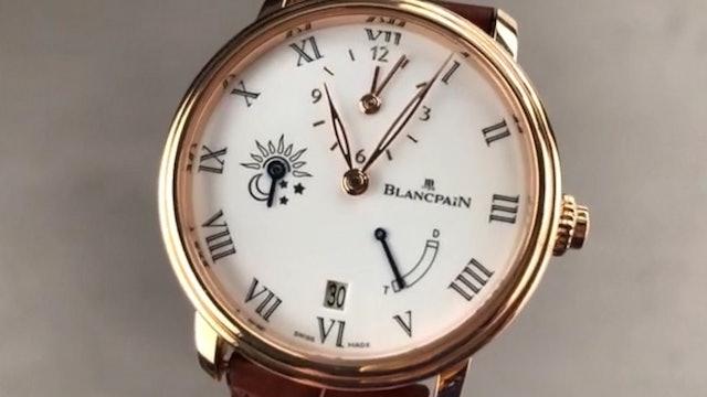 Blancpain Villeret Half Hour 8 Days 6661 3631 55B Blancpain Watch Review