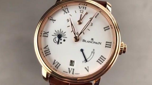 Blancpain Villeret Half Hour 8 Days 6...