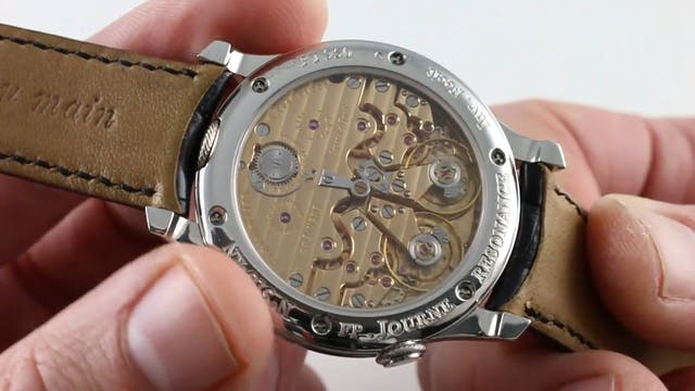 F.P. Journe Chronometre Resonance Bla...