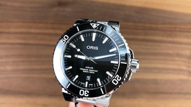 Oris Aquis Date 01 733 7730 4134 07 8 24 05Peb Dive Watch Review