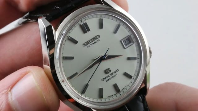 Grand Seiko 62Gs Reissue (White Gold)...