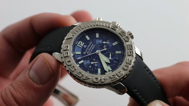 Blancpain Air Command Flyback Chronog...