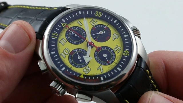 Girard Perregaux R&D 01 Chronograph Limited Edition 49930 Review
