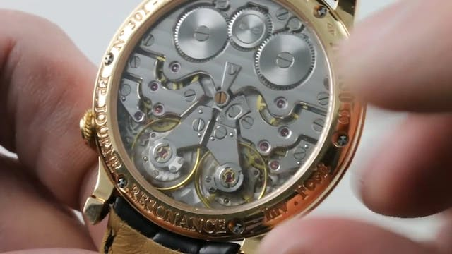 F.P Journe Chronometre A Resonance Re...