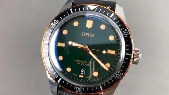 Oris Divers Sixty Five Dive Watch 01 733 7707 4357 07 4 20 18 Oris Watch Review