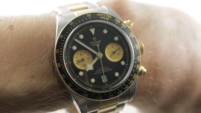 2019 Tudor Black Bay Chronograph Two-Tone 79363N Review
