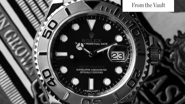The Rolex Yacht Master Oysterflex & G...