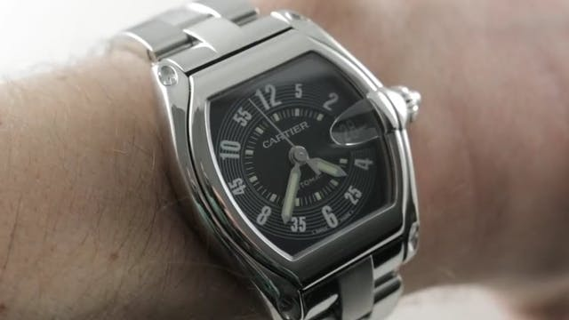 Cartier Roadster Automatic (W62004V3)...