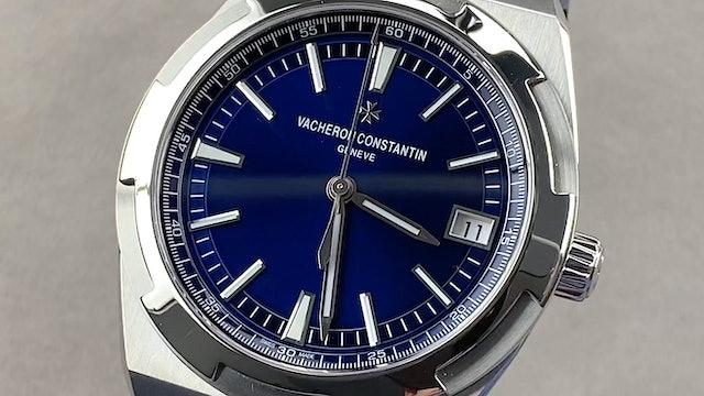 Vacheron Constantin Overseas Blue Dial 4500V/110A-B128