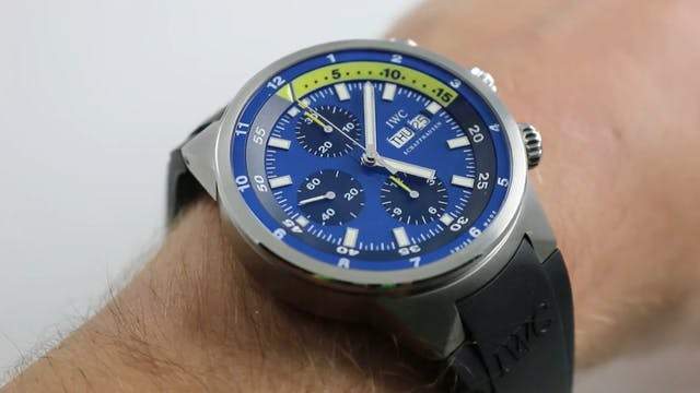 "IWC Aquatimer Chronograph ""Tribute To..."
