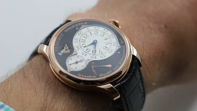 F.P. Journe Chronometre Optimum Bouti...