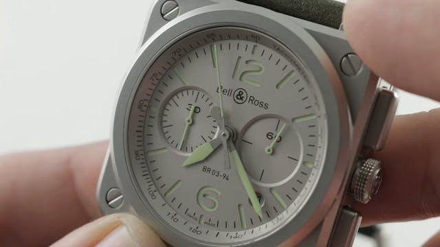 Bell & Ross BR 03 94 Horolum Chronogr...