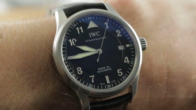 IWC Pilots Watch Mark XV Spitfire IW3...