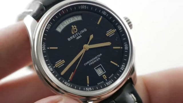 Breitling Premier Day Date Automatic ...