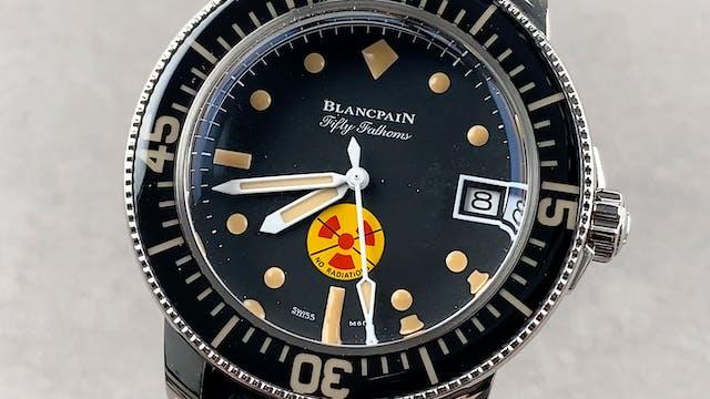 """Blancpain Fifty Fathoms """"No Rad"""" 5008..."""
