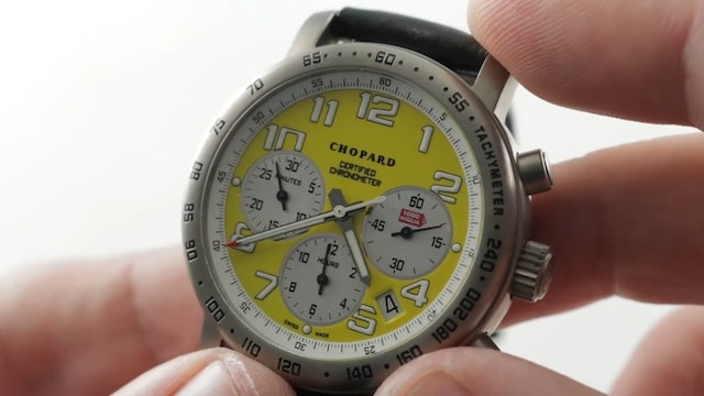 Chopard Mille Miglia Chronograph Speed Yellow (16/8915/104) Review