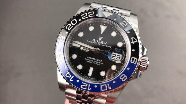 "Rolex GMT Master II ""Batman"" Jubilee Bracelet 126710BLNR Review"