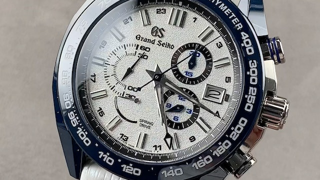 Grand Seiko Sport Collection Spring Drive 20th & Nissan GT-R SBGC229