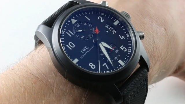 """IWC Pilot's Watch Chronograph """"Top Gu..."""