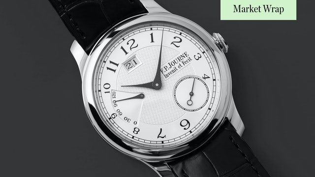 F.P. Journe Goes Boutique Only in the United States (4/30/2021)