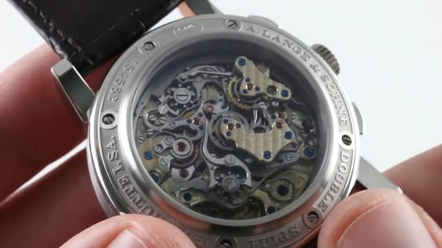 A. Lange & Sohne Double Split Flyback...
