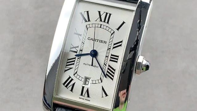 Cartier Tank Americaine W2609956