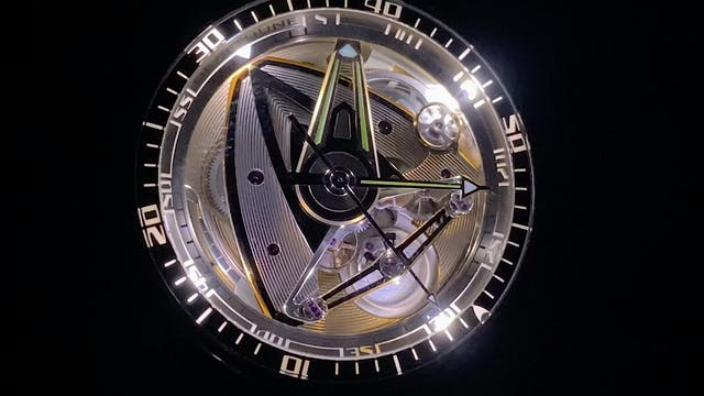 De Bethune DB28GS Yellow Submarine Li...