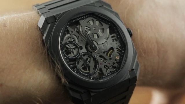 2019 Bulgari Octo Finissimo Black Ceramic 103126 Bulgari Watch Review