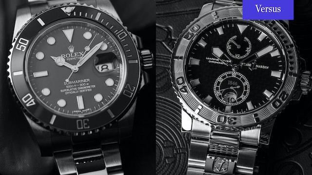 """Rolex Submariner """"Smurf"""" vs Ulysse Nardin Maxi Diver"""