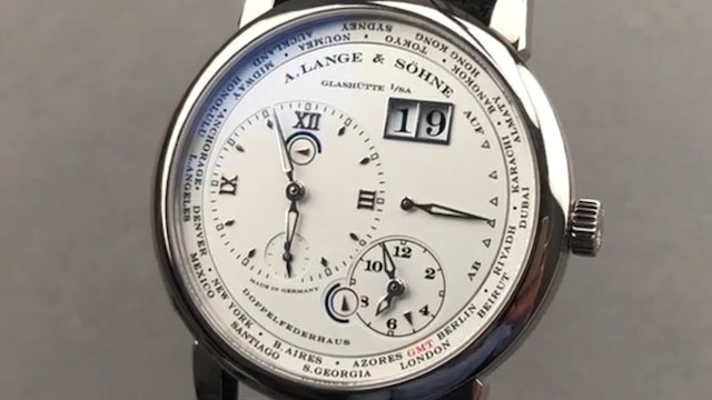 A. Lange & Sohne Lange 1 Time Zone 116.039 Review