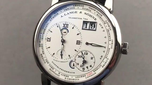 A. Lange & Sohne Lange 1 Time Zone 11...