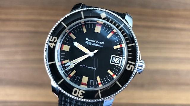 Blancpain Fifty Fathoms Barakuda Limited Edition 5008-1130-B52A Review