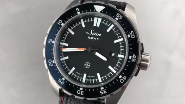 Sinn Pilot Watch EZM 9 Testaf 949.010 Review