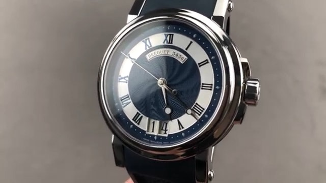Breguet Marine Big Date 5817St Y2 5V8 Breguet Watch Review