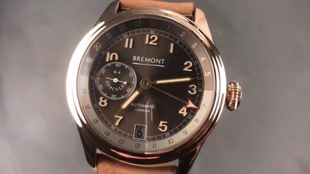 Bremont H 4 Hercules GMT H 4 Hercules RG S Bremont Watch Review